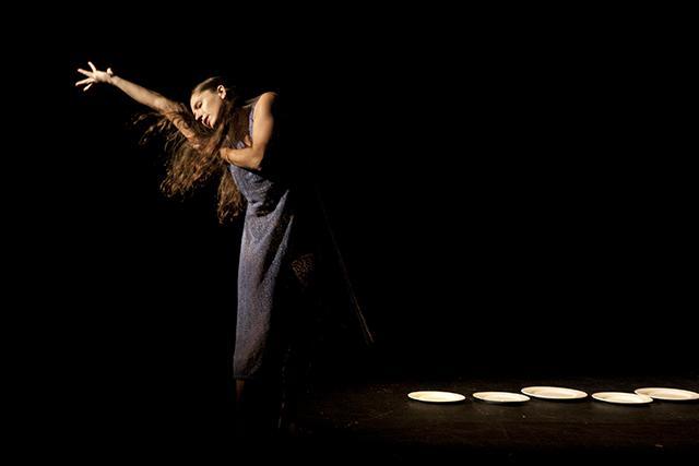 Rosie Herrera Dance Theatre in 'Dining Alone'