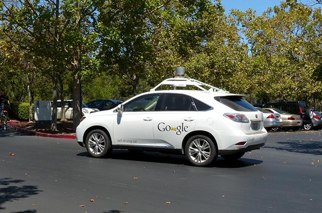 self-driving car photo