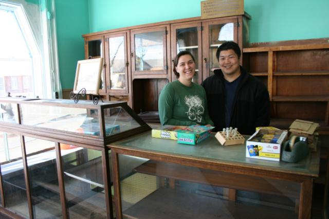 Michelle and David Van Engen are keeping the original candy and bakery goods cou