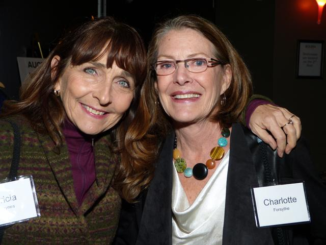 Patricia tk and Charlotte Forsythe