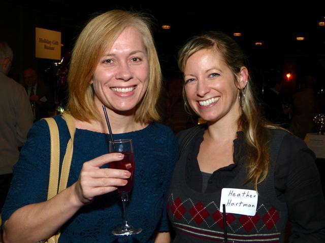 Rachel Fulkerson and Heather Hartman