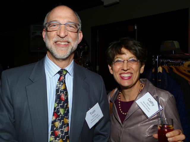 Anniversary sponsors Tom Davis and Cathy Gorlin of Best & Flanagan, LLP