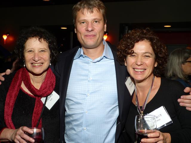 Anniversary sponsor Barbara Scoll, Klaus and Valerie Kohlmayr