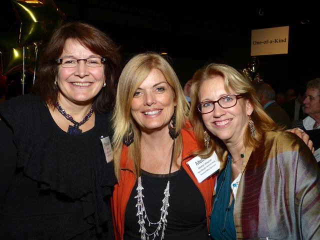 Shannon Peterson, Melissa Martyr-Wagner and Rebecca Shavlik