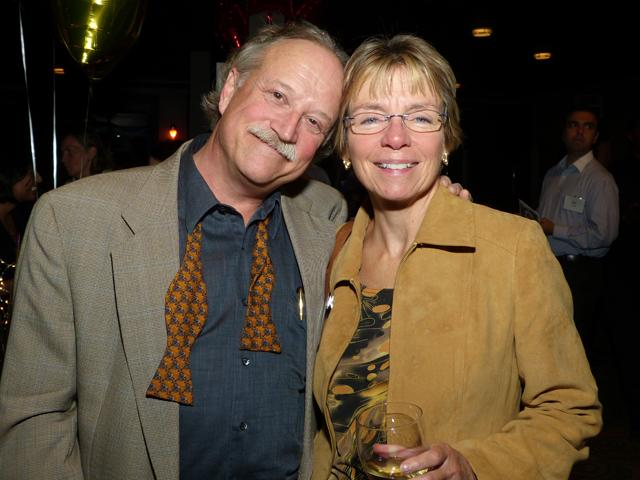 MinnPost journalist Ron Meador and Sally Anderson