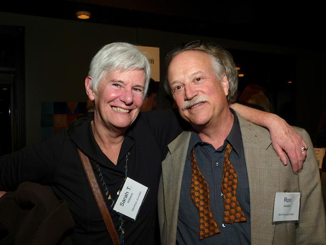 MinnPost journalists Sarah T. Williams and Ron Meador