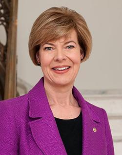 portrait of senator tammy baldwin
