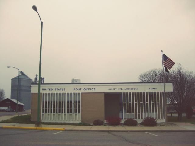 The post office in Sleepy Eye, MN