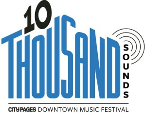 10 thousand sounds logo