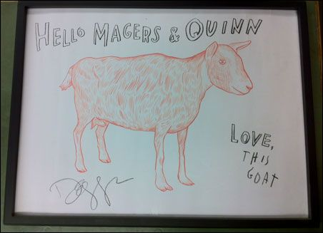 Magers and Quinn got Dave Eggers' goat.