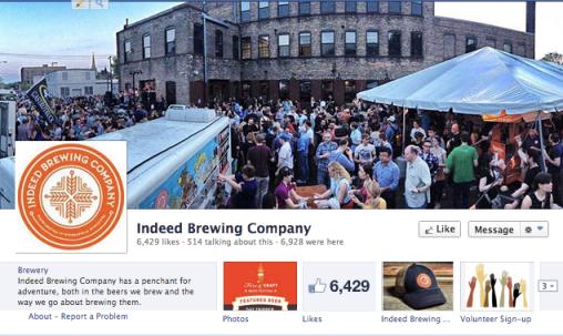 Indeed Brewing FB