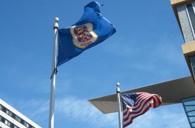 Flag of State of Minnesota