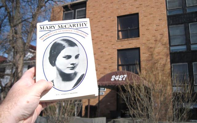 Mary McCarthy book cover, 2427 Blaisdell