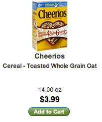 lunds byerly's cheerios price