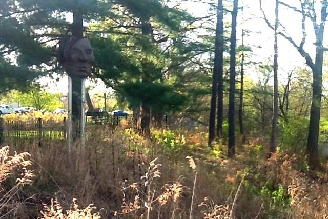 Little Crow Sculpture