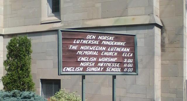 Den Norske Lutherske Mindekirken