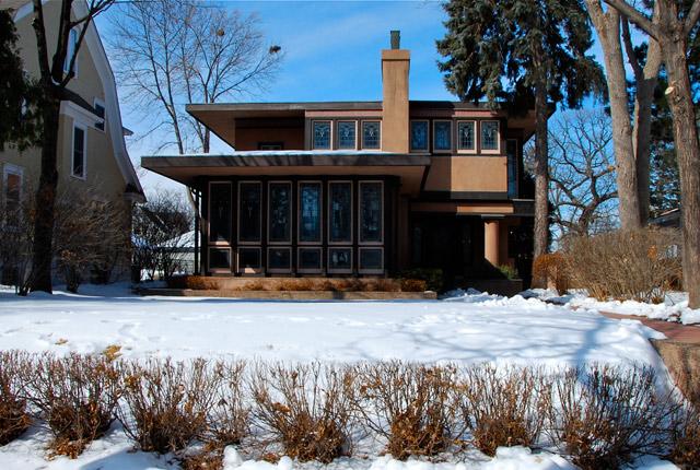 prairie school house photograph