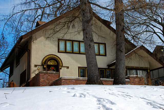 Charles J. (Harry S.) Parker House, 4829 Colfax Ave. So, Minneapolis - 1913