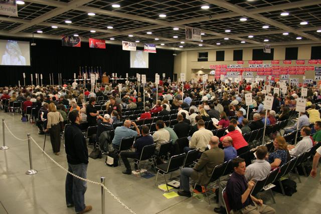 Floor of MN GOP convention