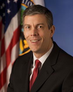 Education Secretary Arne Duncan