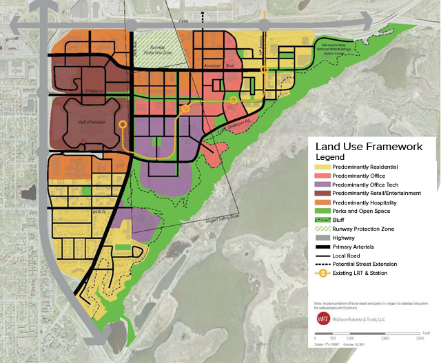 Bloomington Land Use Map