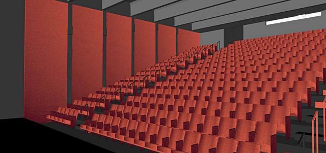 Walker cinema rendering
