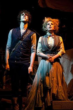 Julian Munro (César Alvarez) and Ada Lovelace (Sammy Tunis)
