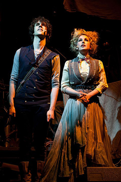 Julian Munro (César Alvarez) and Ada Lovelace (Sammy Tunis)