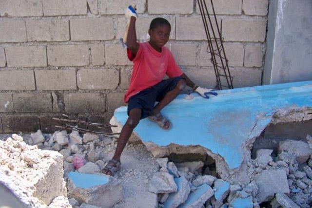 Haiti earthquake remains