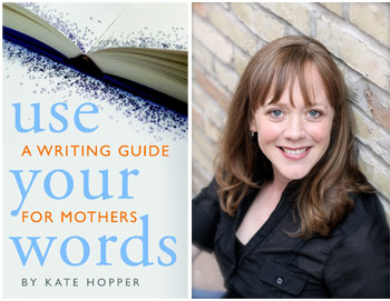 Kate Hopper portrait and book cover