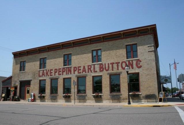 Lake City pearl button façade
