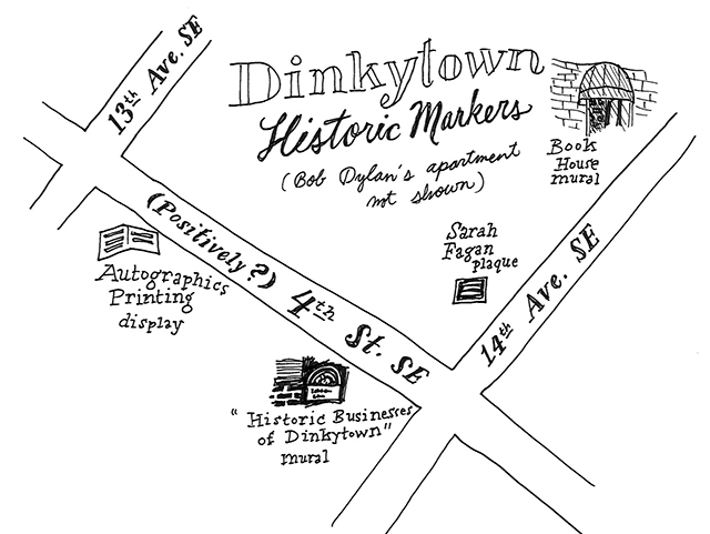 map of dinkytown