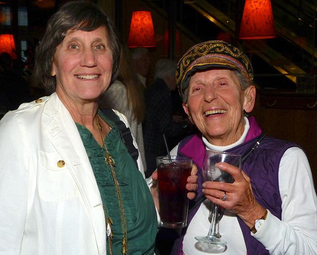 Sara Miele and Ellen Wolfson