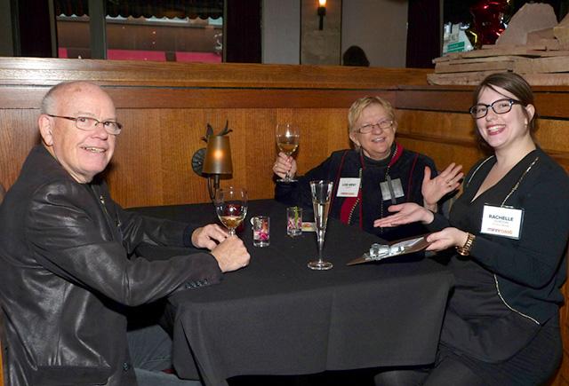 Joe Duffy, Lois West Duffy and Rachelle Gordon