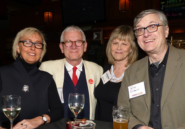 Sandra Nelson, Larry Lamb, Catherine Madison and Rick Dublin