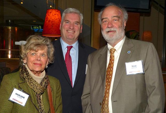 Marlene Kayser, Rep. Tom Emmer and Tom Kayser