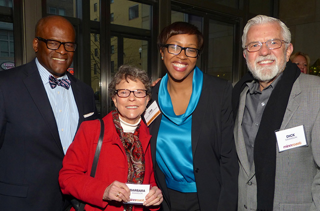 Kevin Armstrong, Barbara Swanson, Lisa Goldson Armstrong, Dick Swanson