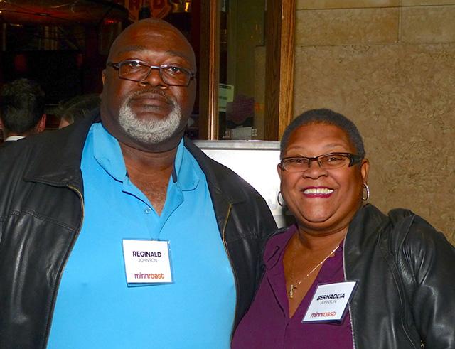 Reginald and former MPS Superintendent Bernadeia Johnson