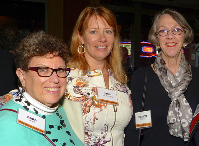 Fran Davis, Dawn Erlandson and Patricia Mitchell