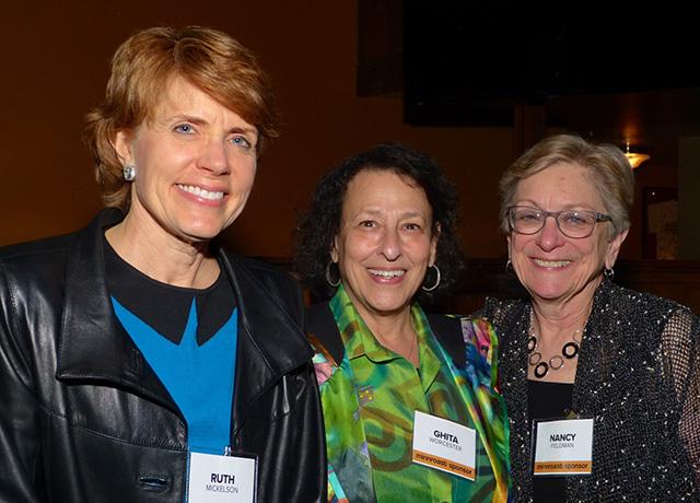 Ruth Mickelson, Ghita Worcester and Nancy Feldman