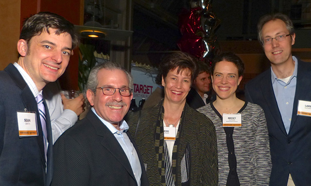 Sean Smith, Lew and Nicki Zeidner, Becky and Lars Klevan