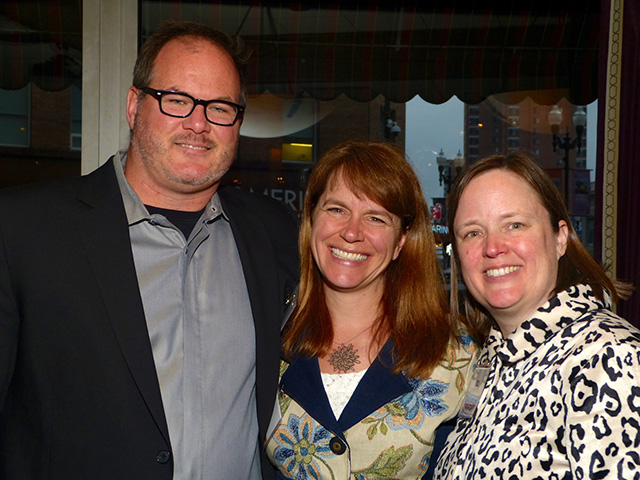 Scott Moore, Beth Haney and Jill Stever-Zeitlin