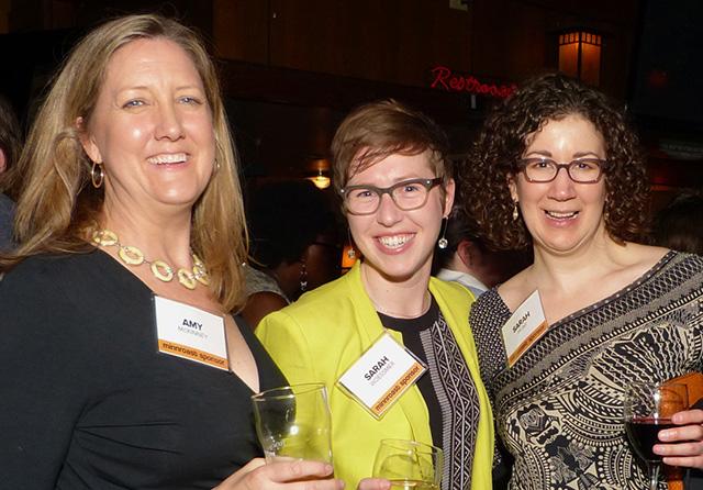 Amy McKinney, Sarah Woessmer and Sarah Hunt