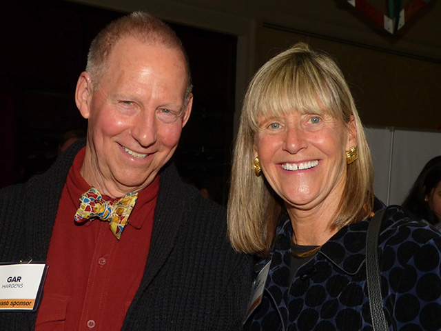 Gar Hargens and Missy Staples-Thompson