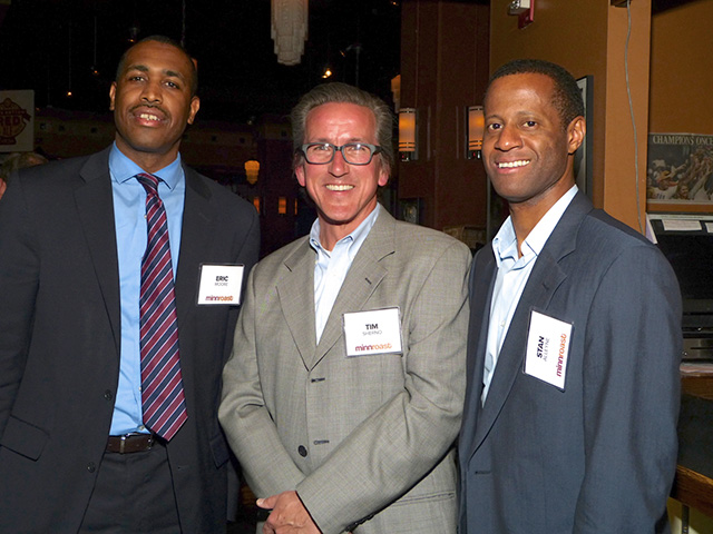 Eric Moore, Tim Sherno and Stan Alleyne