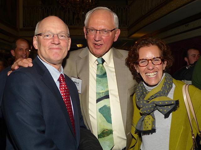 Myron Frans, Paul H. Anderson and Susan Segal