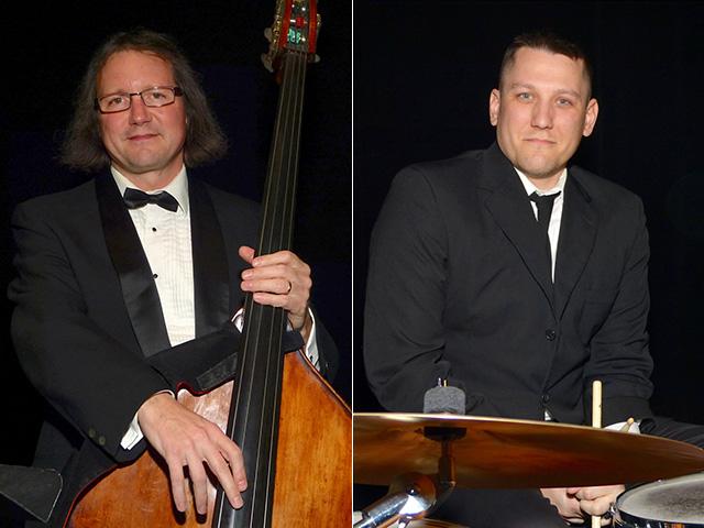 Bassist John Etzell and drummer Ryan Lodgaard