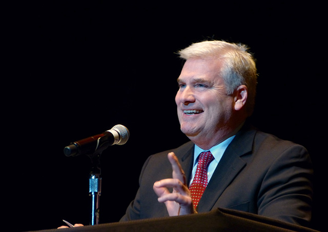 Rep. Tom Emmer cracking up the crowd