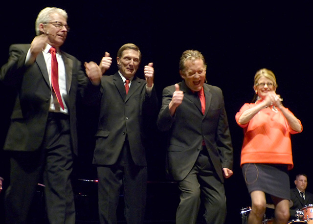 "Warren Kapsner, Joe Kimball, Brian ""BT"" Turner and Lynn Smith"