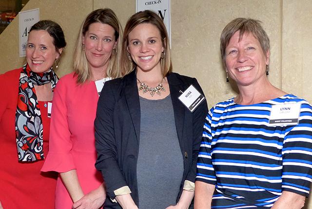Jane Cracraft, Kate Carpenter, Nora Fox and Lynn Cibuzar